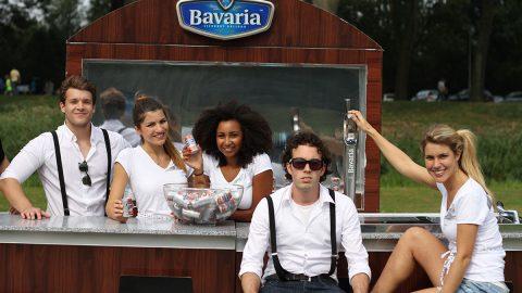 Bavaria promotie op festivals