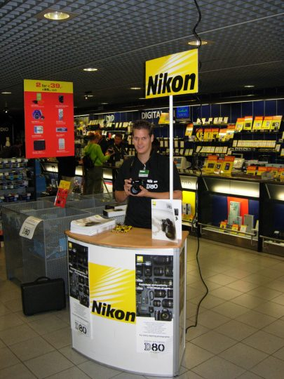 Nikon Actiepunt direct sales