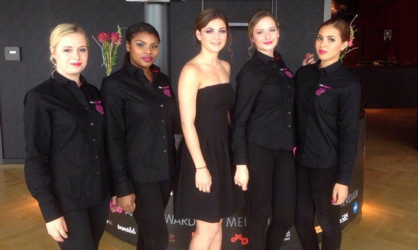 Hostess service Amma-Awards Amsterdam