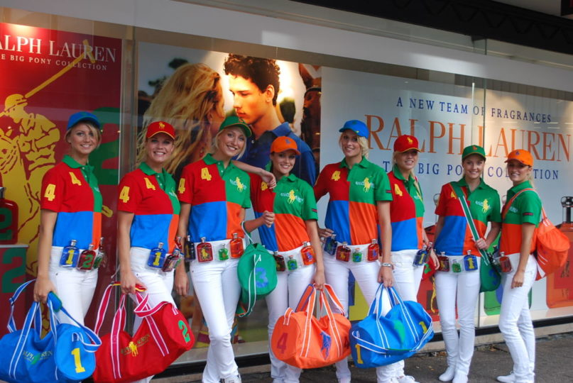 Promotieteam Ralph Lauren Shopper Marketing