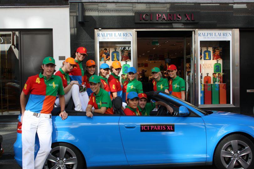 Ici Paris x Ralph Lauren shoppermarketing