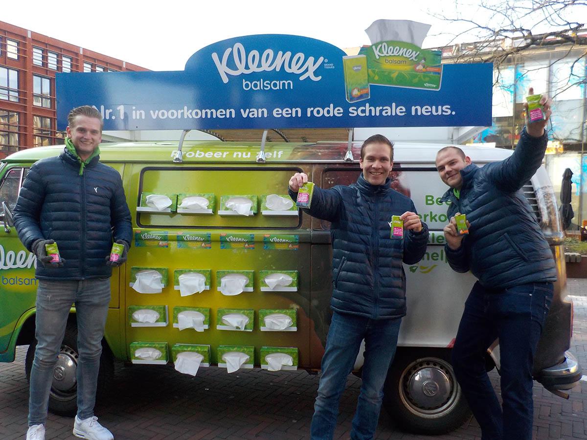Delft city sampling kleenex balsam