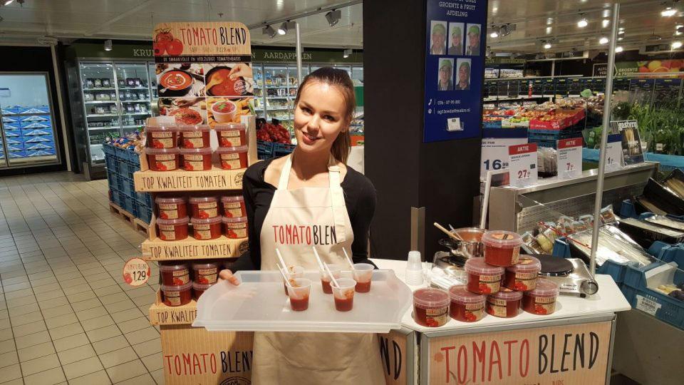 Tomato-Blend-Instore-Demonstratie-Breda